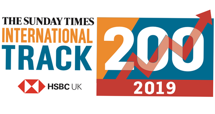 Xexec ranks 149 in the Sunday Times International Track 2019