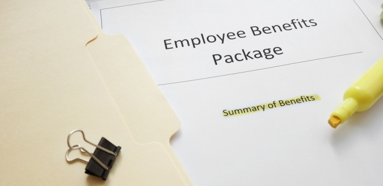 Front Page of a document detailing an employee benefits scheme