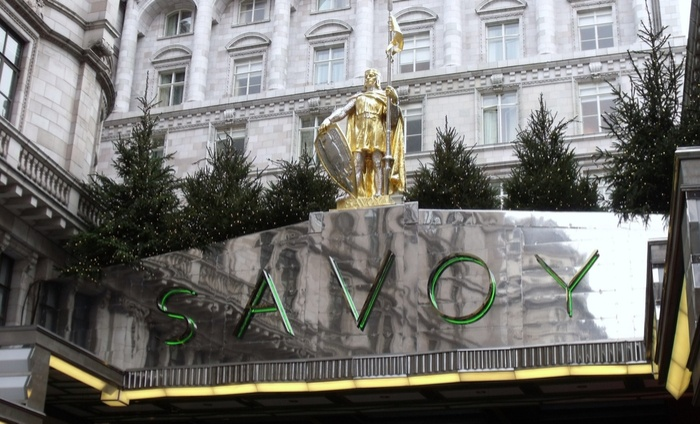 The Savoy Hotel - where Xexec's Employee Recognition breakfast event was held in May 2017