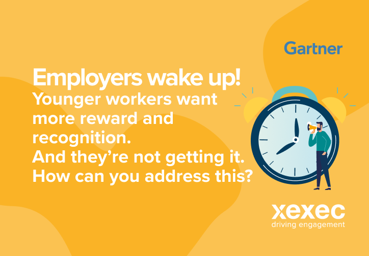 Employers wake up! Younger workers want more reward and recognition. And they're not getting it. How can you address this?