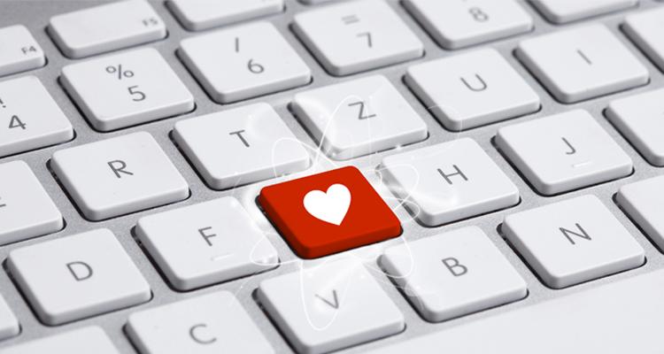 Red heart in a MAC keyword
