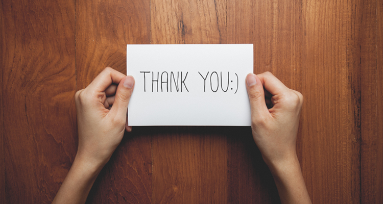 Employee Recognition: A thank-you goes a long way